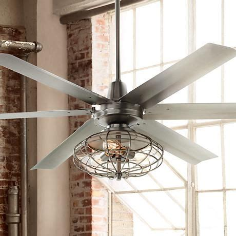 farmhouse ceiling fan with light 60 quot turbina max nostalgic steel ceiling fan ceiling