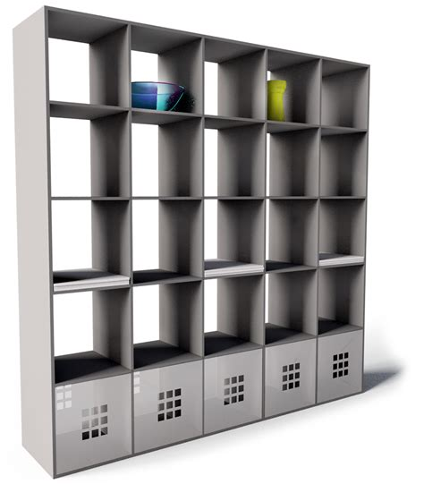 cad and bim object expedit bookcase black ikea
