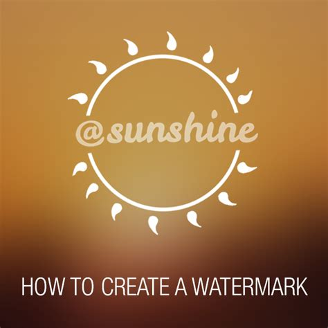 picsart tutorial watermark how to create your own watermark using picsart create