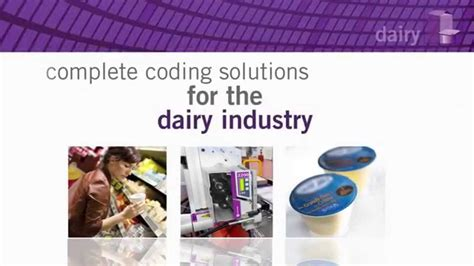 coding solutions markem imaje complete coding solutions for dairy industry