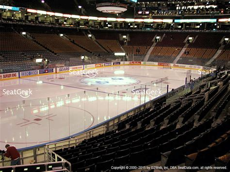 section 121 air canada centre air canada centre seating chart interactive seat map