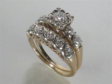 vintage wedding ring sets trulagreen