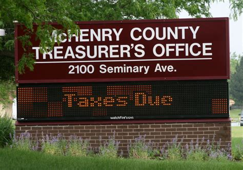 Mchenry County Property Tax Records Taxes Due Mchenry County