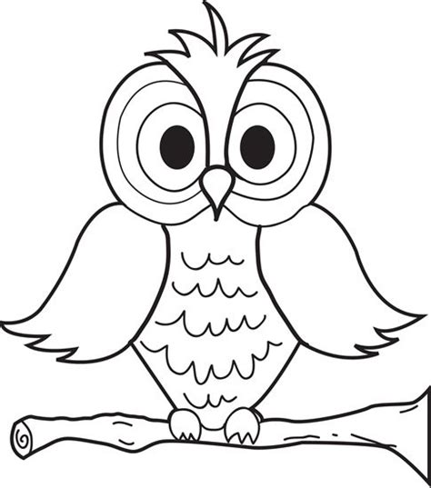 printable scary owl 25 best ideas about coloring pages for kids on pinterest
