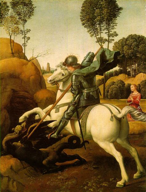 saint george and the dragon webmuseum raphael