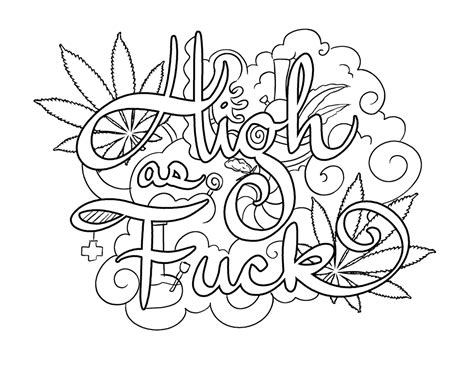 weed leaf coloring page trippy pot leaf coloring pages theleaf co