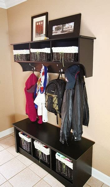 entryway storage bench and wall cubbies 1000 images about back porch storage ideas on pinterest
