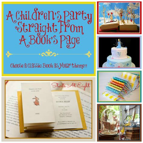 wordpress themes children s book a children s party straight from a book s page startsateight