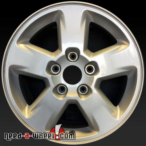 Jeep Grand Stock Rims 17 Quot Jeep Grand Wheels Oem 2011 13 Silver Stock