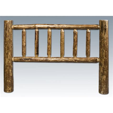 Log Headboards For Beds by Montana Woodworks Glacier Country Log Headboard
