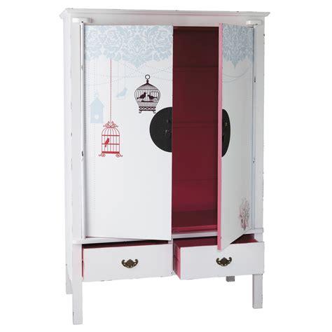 Kleiderschrank Weiss Hochglanz 120 Cm by Kleiderschrank Aus Holz B 120 Cm Wei 223 Rosa Jade Jade
