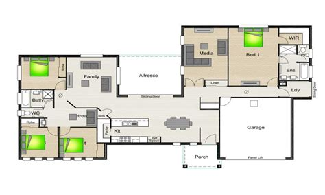 house plans with breezeway between and garage