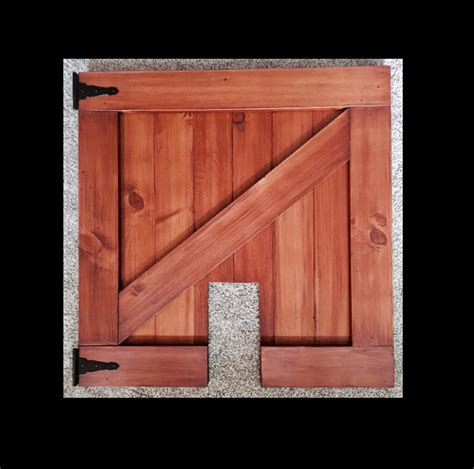 Pet Security Gate Barn Door Baby Gate Made To Fit Rustic Barn Door Gate