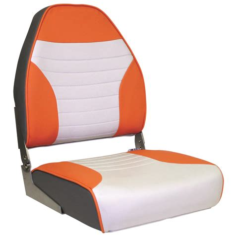 wise boat seat covers wise raider high back boat seat 671377 pontoon seats at