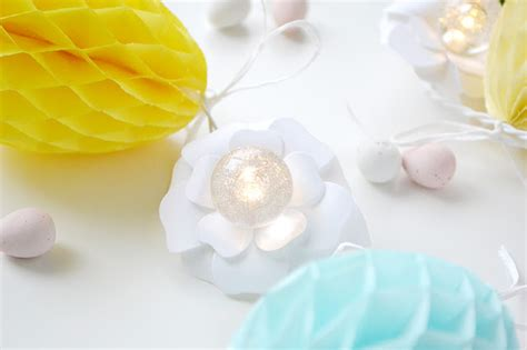 Honeycomb Garland aly dosdall honeycomb easter egg garland