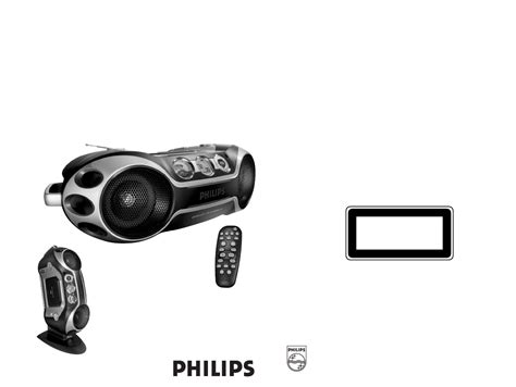 Philips Portable Stereo System Az2537 User Guide