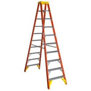 home depot 10 foot ladder werner 10 ft fiberglass step ladder with 300 lb