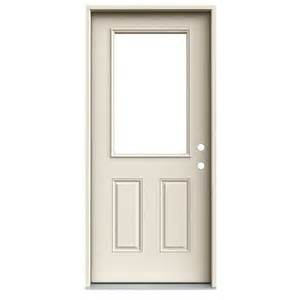 Lowes Exterior Entry Doors Reliabilt Open Inswing Steel Entry Door Lowe S Canada