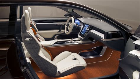 future cars inside concept estate volvo cars