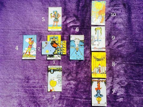 celtic cross tarot layout