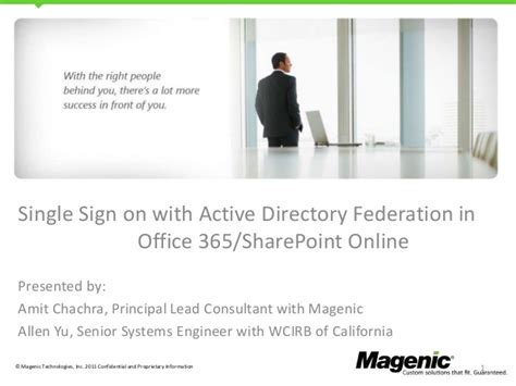 Office 365 Portal Single Sign On Office 365 Single Sign On With Adfs