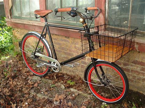 basket for bike wants desires commuter bike a continuous lean