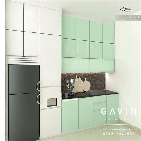 design pantry minimalis contoh model kitchen set minimalis dapur bersih di cakung