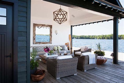 home tour anne hepfer s rustic modern lake house lakes designers dreamy rustic modern lake house with sweeping vistas of