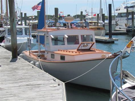 lobster boat conversion for sale midcoast yacht ship brokerage downeast yachts