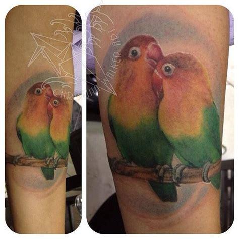 body tattoo in kochi lovebirds tattoo tattoos by christina walker pinterest