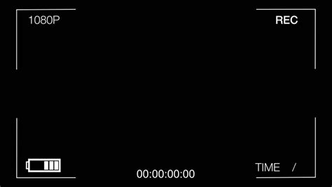 format video rec camera viewfinder digital overlay display 4k luma matte