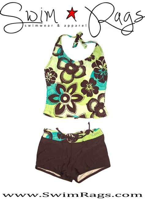 Flower Tankini flower tankini swim rags swimwear apparel