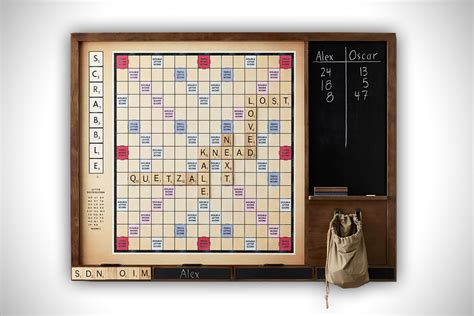 Wall Scrabble By Restoration Hardware Hiconsumption