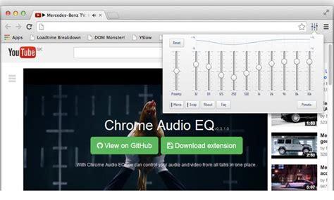 chrome equalizer chrome audio eq un ecualizador para v 237 deos y audios de chrome