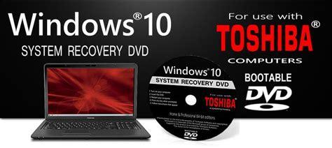 toshiba windows  recovery restore settings repair