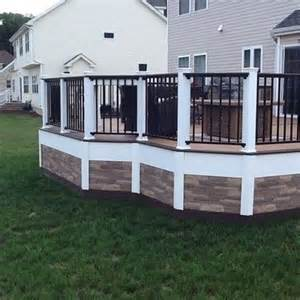 look deck 17 best ideas about deck skirting on deck