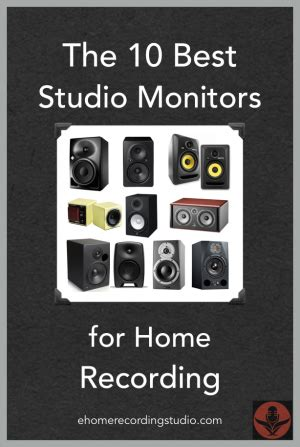 best studio monitors the 10 best studio monitors speakers for home recording