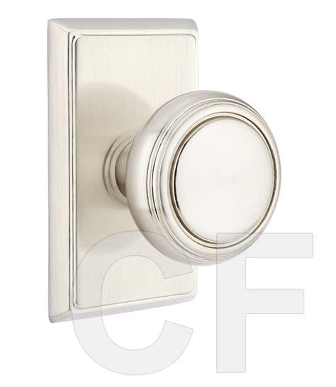emtek norwich door knob with cf mechanism