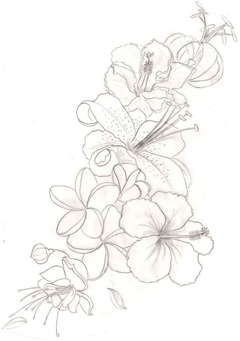 orchid flower tattoo designs outline orchid flower tattoos design my style