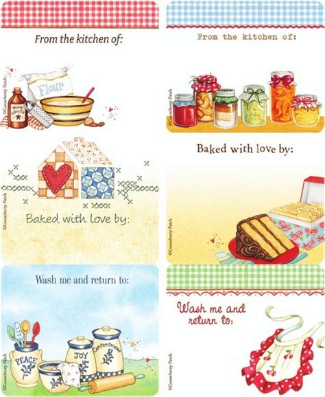 printable recipe labels 80 best images about recipe printables on pinterest