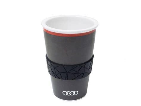 Audi Becher by Audi Trinkbecher Polygon Quantumgrau