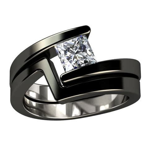 25 best ideas about black gold rings on black