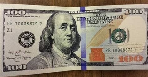 printable fake money looks real fake 100 bills used as movie prop turn up in livingston