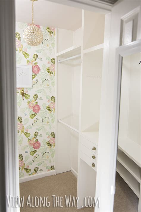 wallpaper closet how to install wallpaper the easy way