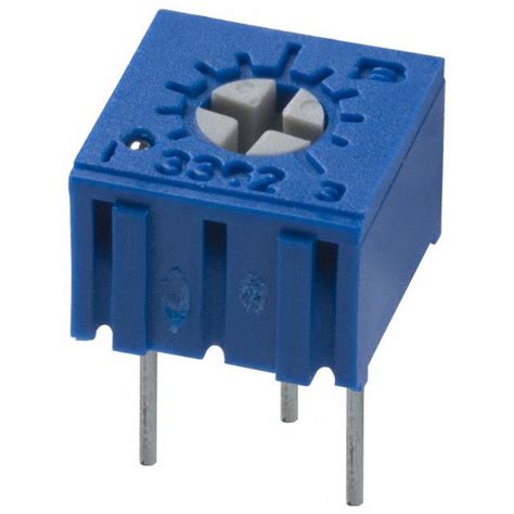 datasheet resistor variable 10k 3362p 1 103lf bourns inc potentiometers variable