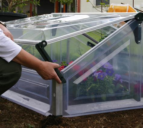 Vegetable Beds Mini Greenhouse Cold Frame Double Gothic Arch Greenhouses
