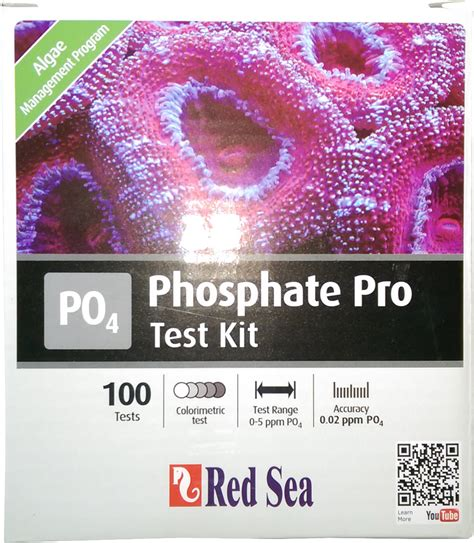 Sea Phosphate Pro Test Kit sea phosphat pro test set in sea