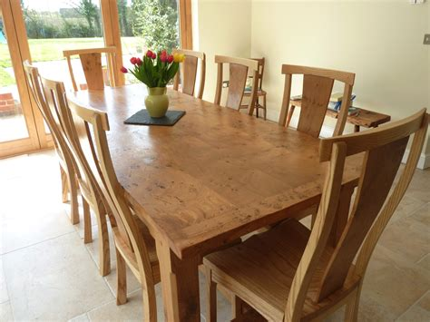 Large Kitchen Tables Quercus Furniture Bespoke Handmade Table Oak Refectory Table