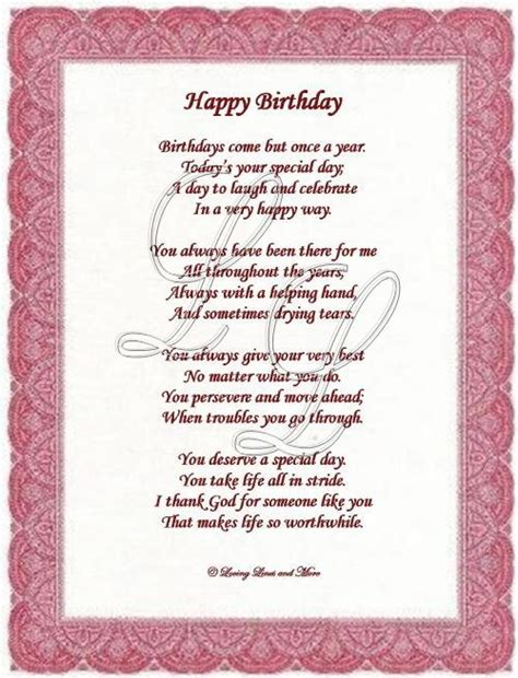 Happy Birthday Poems From by 25 Exclusive Happy Birthday Poems Picshunger