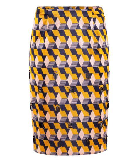 geometric pattern skirt geometric pattern pencil skirt 8 prettiest patterned pencil